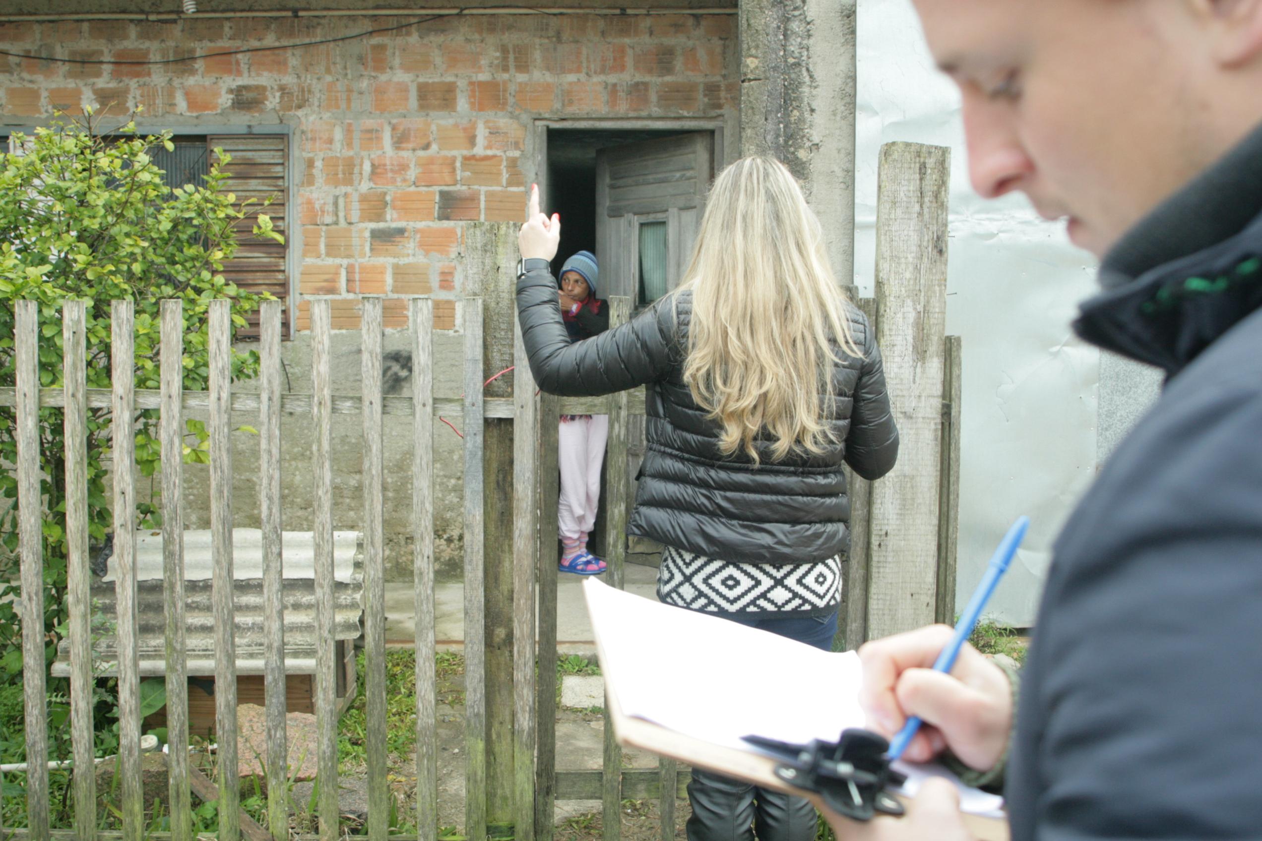 Pesquisa UCPel: grupo visita residências nas áreas mapeadas