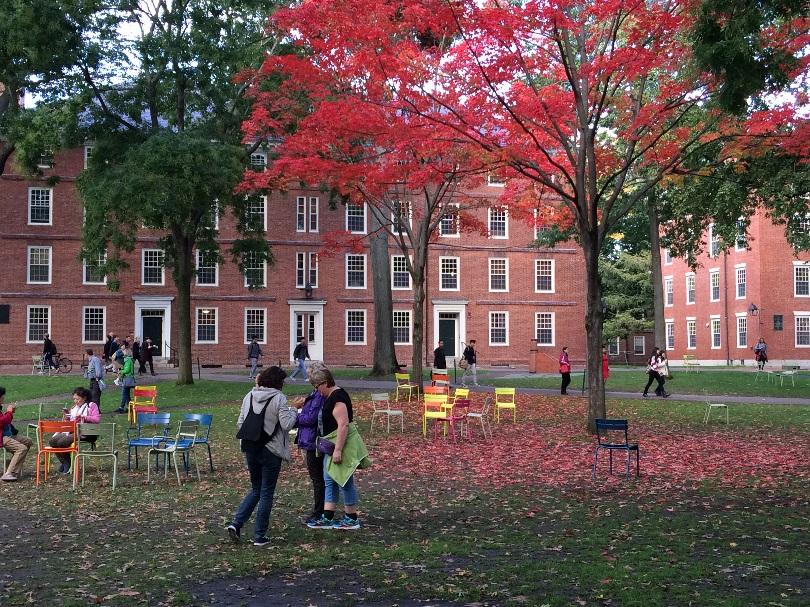 intercâmbio em Harvard: foto do Campus da Universidade