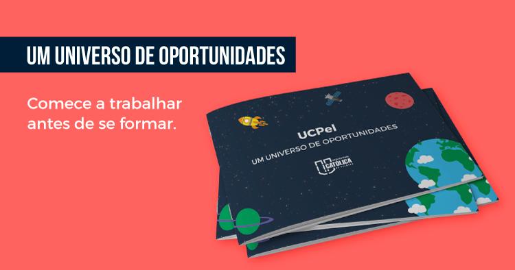 Um universo de oportunidades - comece a trabalhar antes de se formar