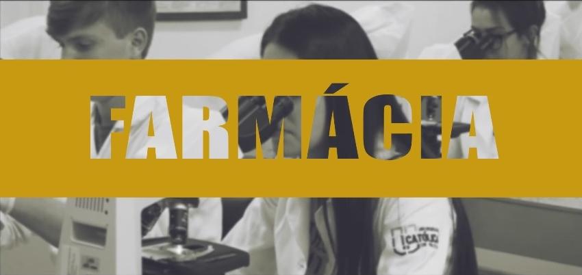 Farmácia - vestibular ucpel - curso de Farmácia
