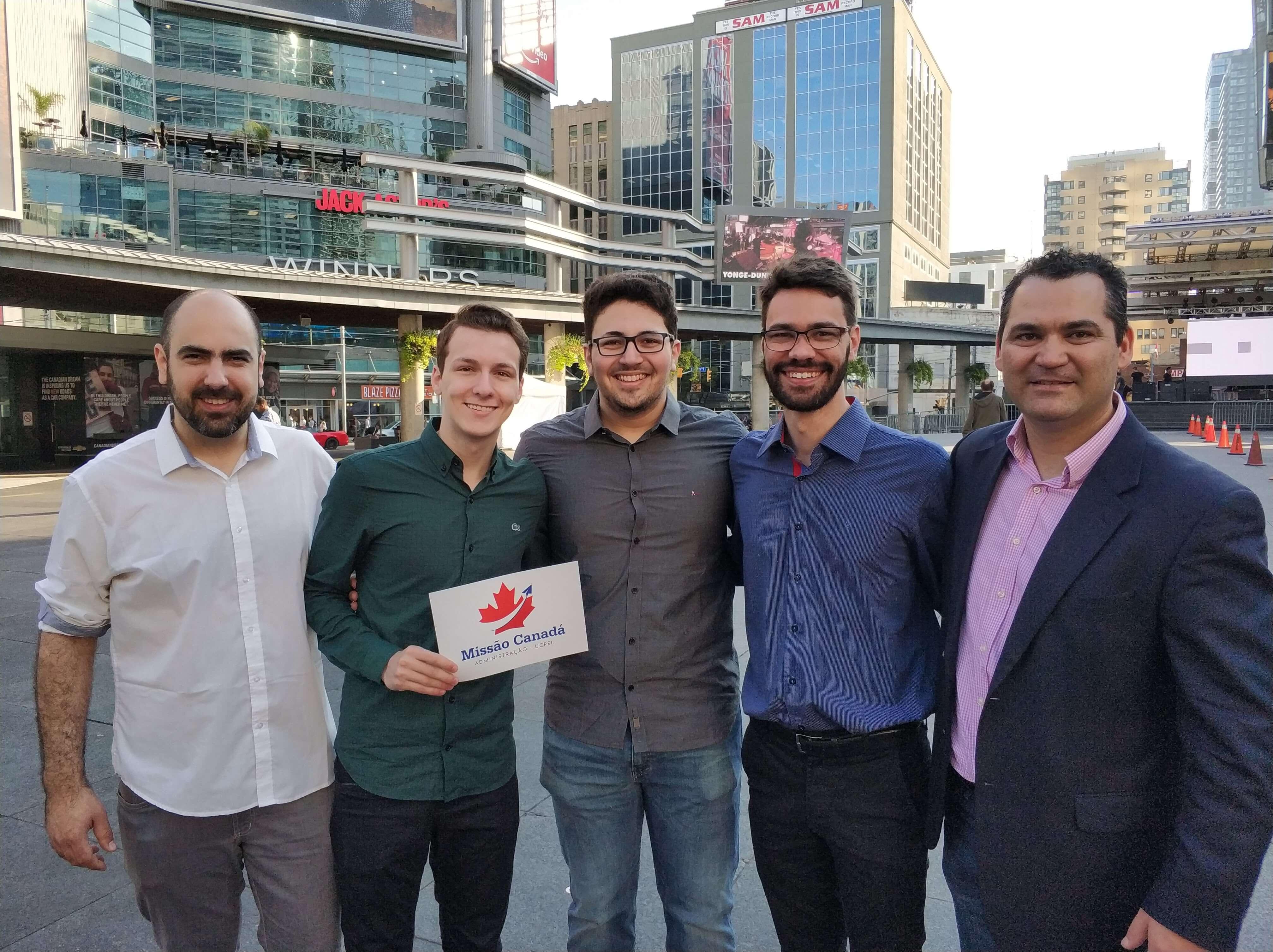 Participantes Missão Canadá