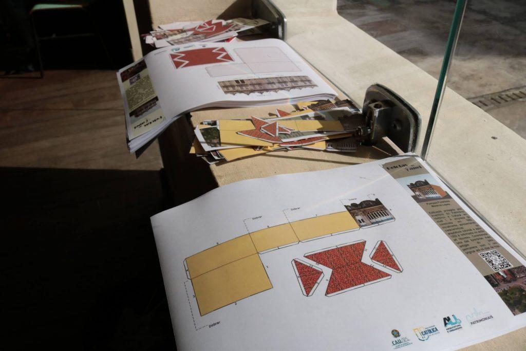 UCPel e as novas gerações: maquetes de papel planificadas através da utilização de drone