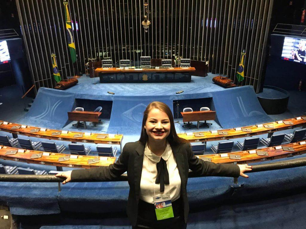 programa-estágio-visita-câmara, Estágio-visita na Câmara: veja a experiência da Kananda Nunes