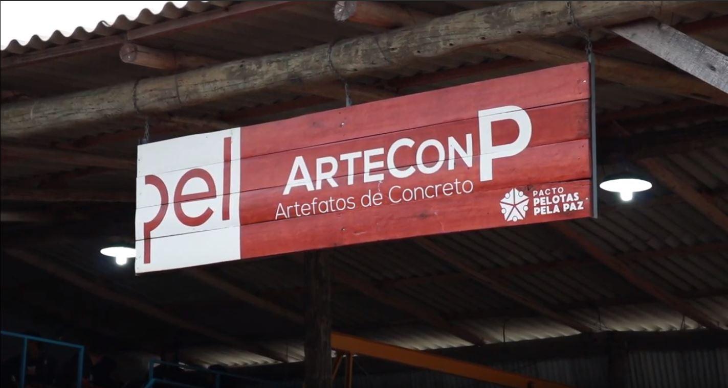 fachada da fábrica ArteConP