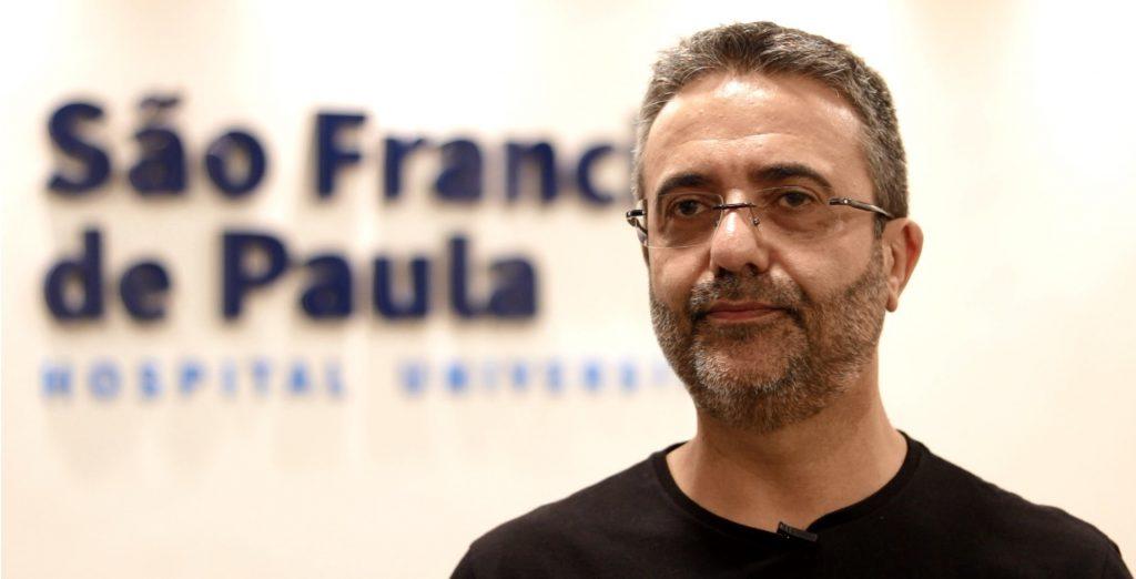 Médico infectologista, Paulo Monteiro, do Hospital Universitário São Francisco de Paula