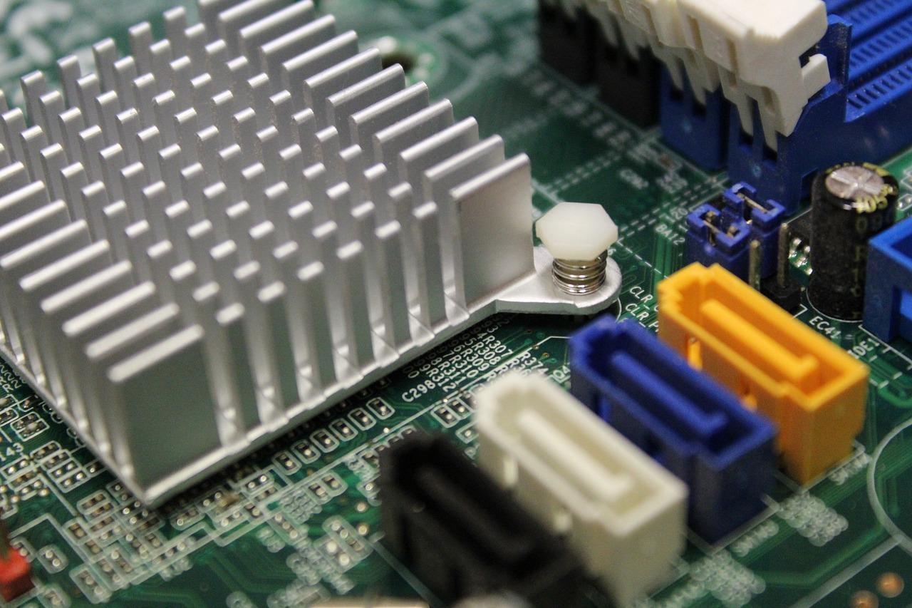 Elementos de uma placa de computador traduzem uma das profissões mais em alta
