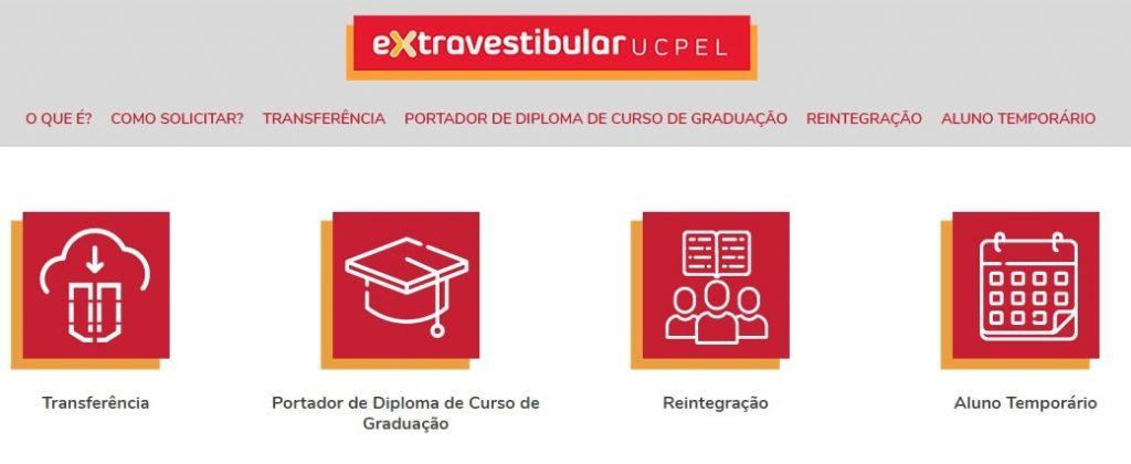 Extravestibular da UCPel inclui categoria para portadores de diploma de graduação