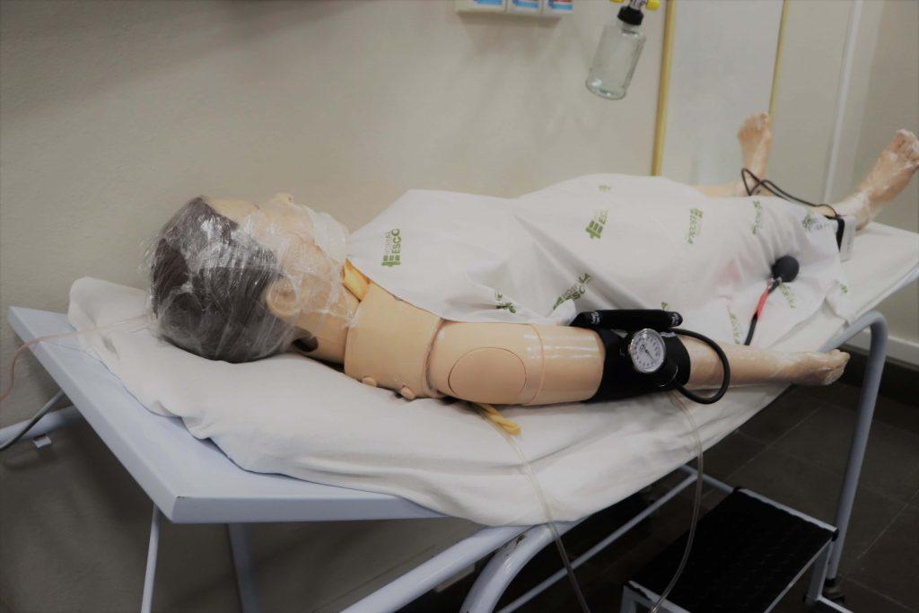 Laboratório de Simulação Realística da Enfermagem